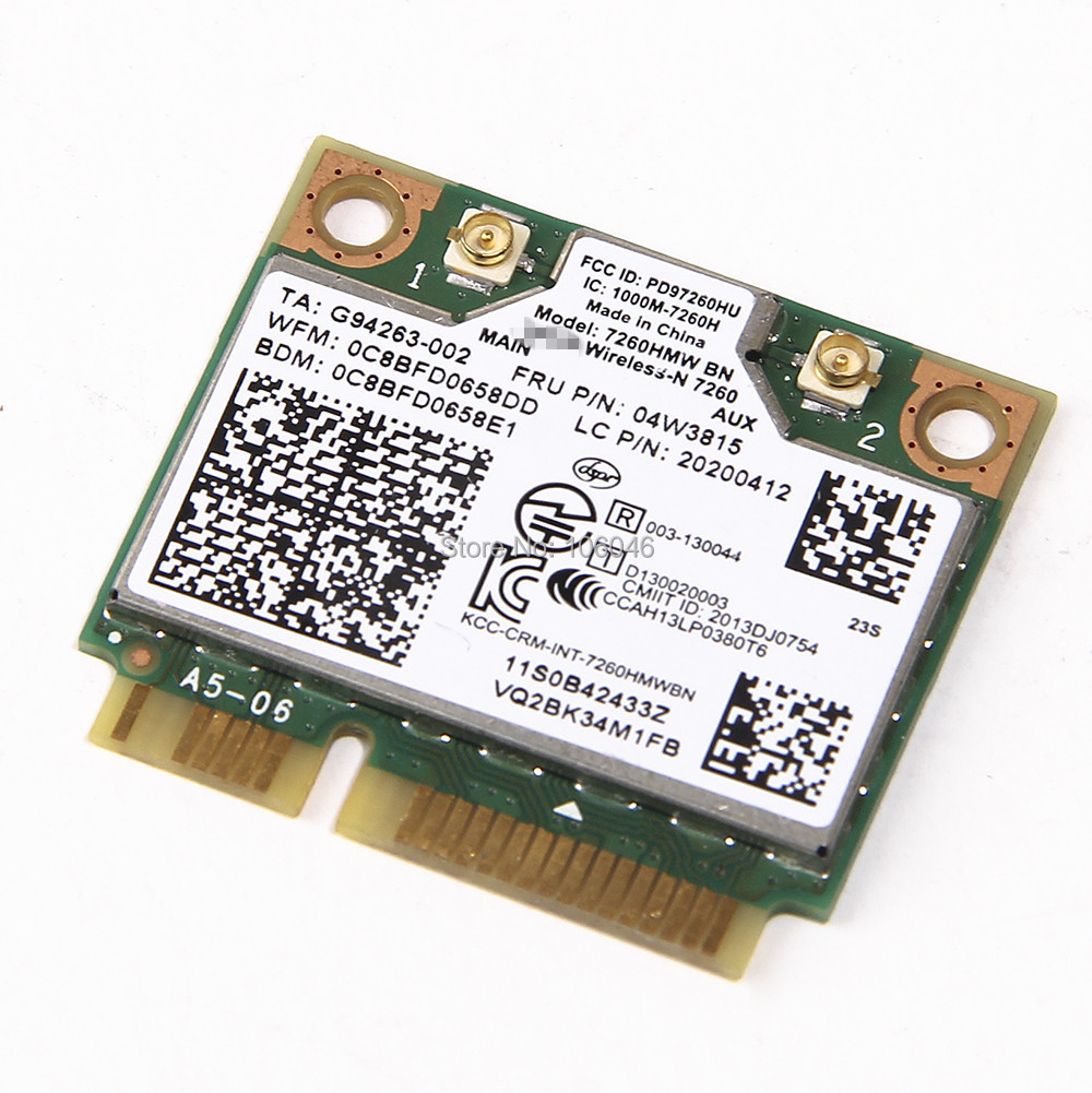 Genuine Lenovo Z570 Series Wireless Wifi Card 112BNHMW