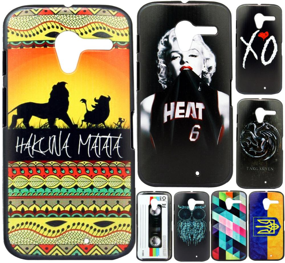 For Motorola Moto X XT1055 XT1058 XT1060 Case New Fashion Luxury Style Design Hard Plastic Mobile Protective Phone Case Cover(China (Mainland))