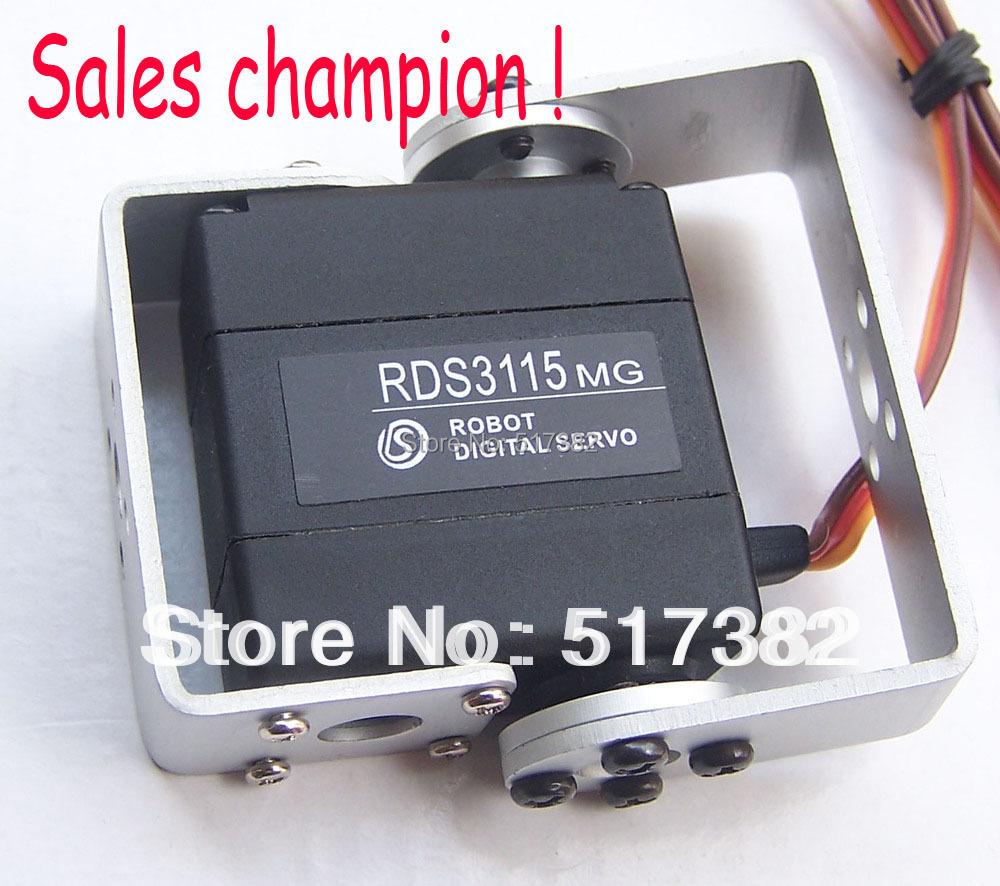 Гаджет  Free shipping Original factory RDS3115 Metal gear digital  servo  Robot servo arduino servo for Robot diy 15kg/cm None Игрушки и Хобби