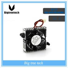 New orignal 2 pin 12V 4010 fan with Heatsink DC Brushless Cooling Fan 40x40x10mm 3D0037