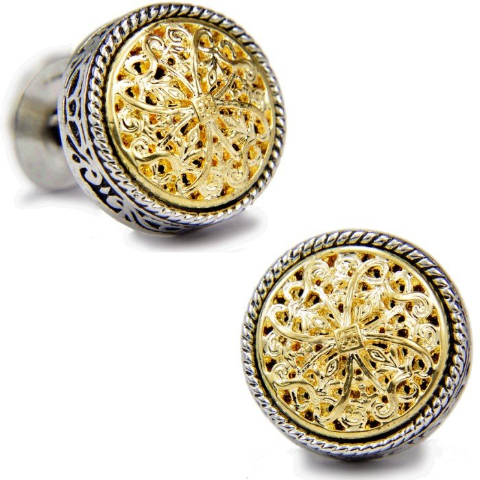 SPARTA Platinum Plated Stanislaus men's Cufflinks Free Shipping !!! gift metal buttons(China (Mainland))