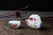 Dragon Kung Fu Tea ceramic porcelain beads show special packages dedicated bubble tea is black tea tea shipping