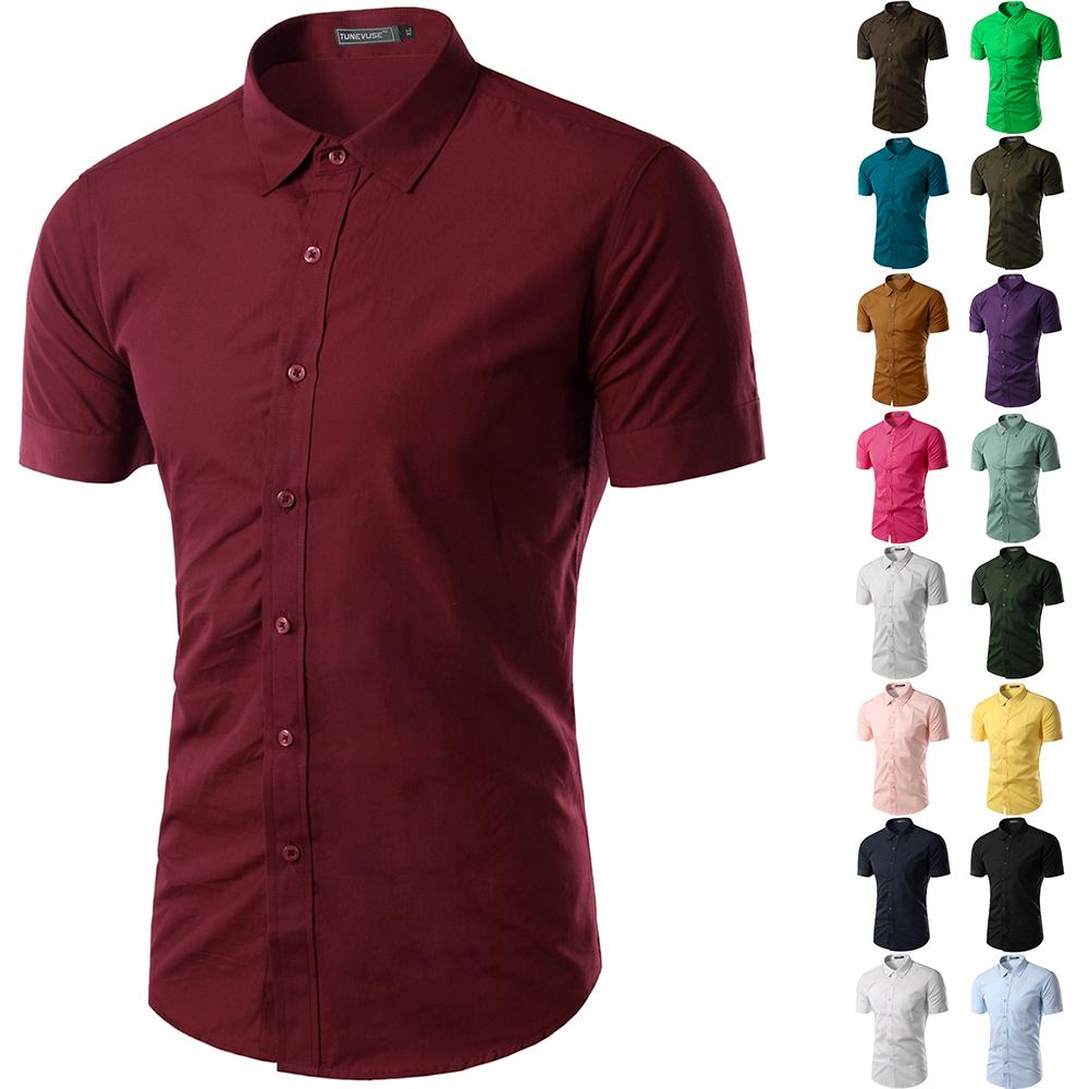 Free shipping 2015 mens slim fit unique neckline stylish for Men s dress shirt accessories