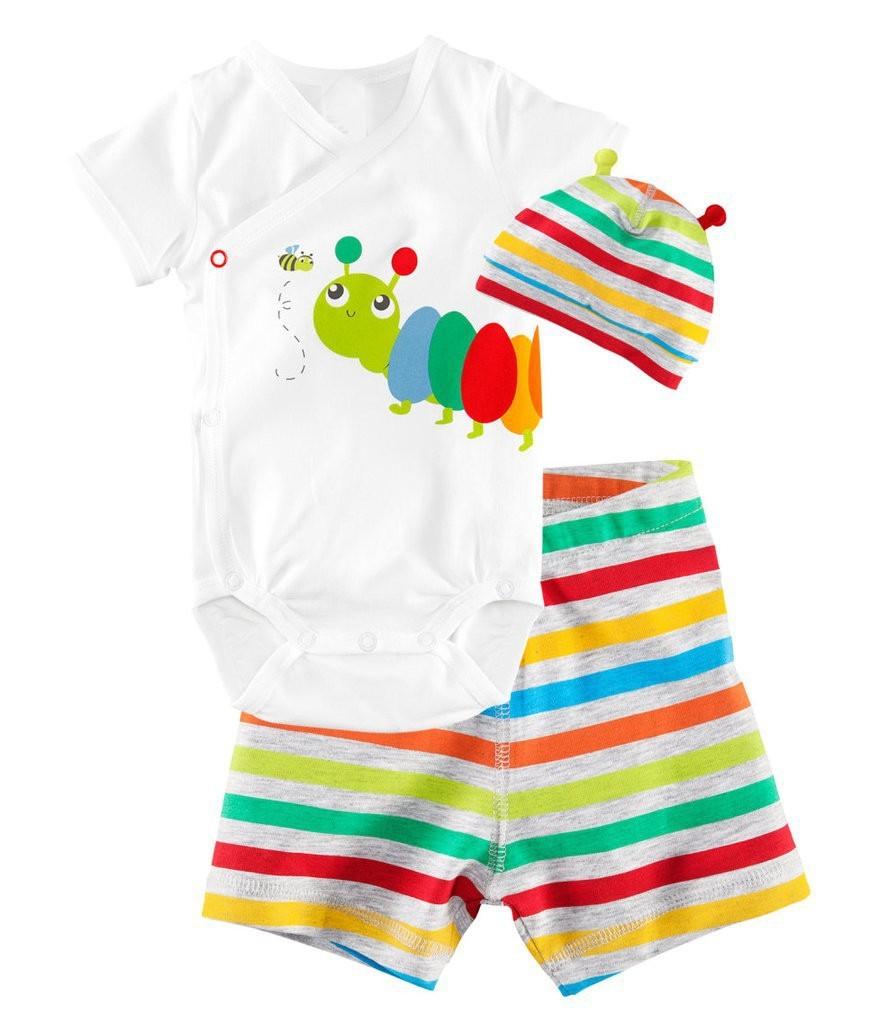 Hot Newborn Baby Girl Clothes Cotton Infant Set 2016 New Baby Girl Summer Clothes Vetement Bebe (Tops+Pants+Headband) 3pcs/Set