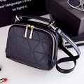 New Fashion Women Solid PU Leather Handbag High Quality Chain Shoulder Lady Messenger Bag Candy Color