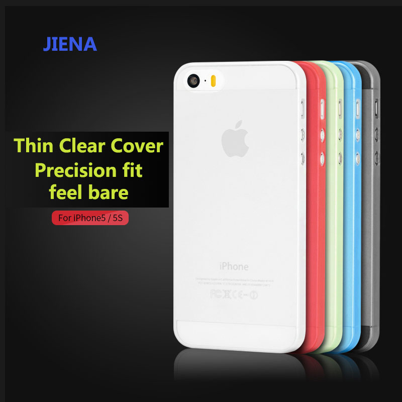 Hot sell 0.3mm Ultra Thin Case Slim Matte Transparent Cover Case For iPhone 5 5s SE mobile phone bag(China (Mainland))