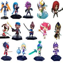 15cm Games Model toys VI Yasuo League of L Competitive Games controller PVC Action Figure Car Decoration kids toys Gift(China (Mainland))