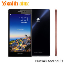 """Huawei Ascend P7 Kirin 910T Quad Core LTE Mobile Phone Android 4.4 2GB RAM 16GB ROM 5.0"""" FHD 13.0MP Camera In Stock(China (Mainland))"""