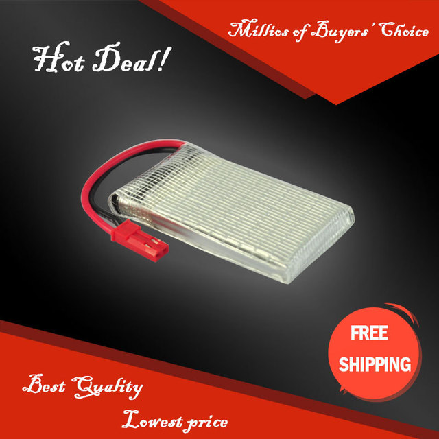 3pcs HRB Lipo Battery 3.7V 1100mAh 15C JST Connector 1 Cell For RC Helicopter Bateria Battery Lipo