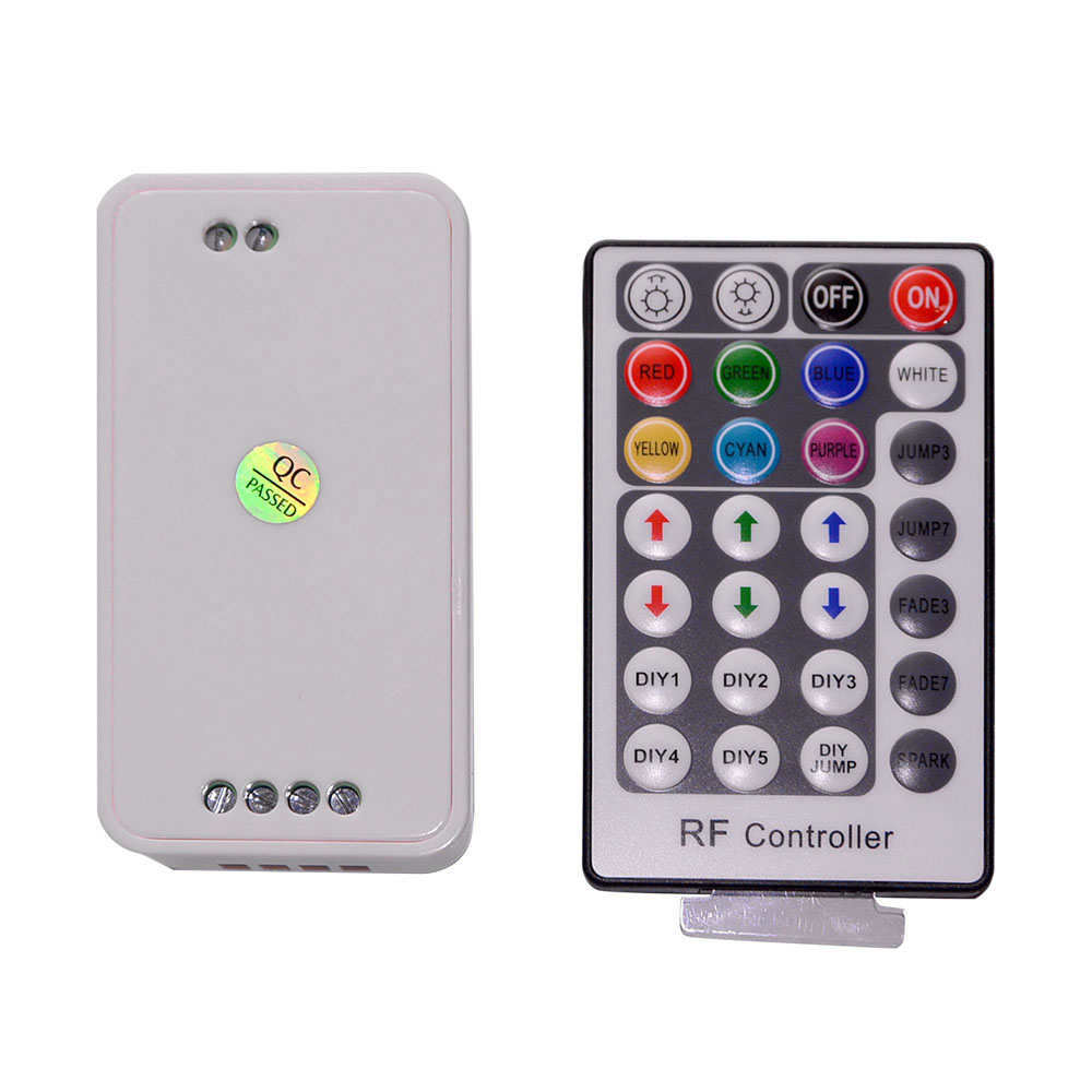 Lighting Accessories RGB Controler RF Wireless Remote 28 Keys 12-24V 3 Channels LED Controller for RGB LED Strips Light(China (Mainland))
