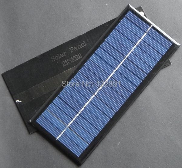 High Quality 12V 2.5W Polycrystalline Solar Panel Module Diy Solar System Solar Cells Charger 213x92x3MM 3pcs/lot Free Shipping<br><br>Aliexpress
