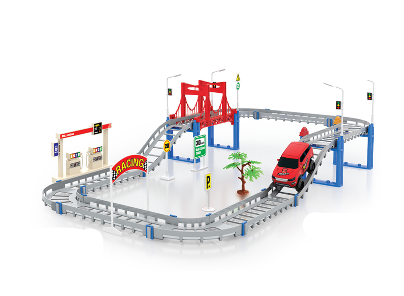 New Rail car Solt thomas Car Children Boby kids toys gift Vehicle toys Multilayer Track cars Electric car model Boy love(China (Mainland))