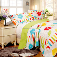 Hot sell printed patchwork quilt