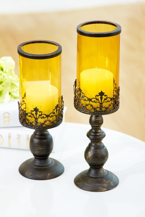 Moroccan style lantern candle holder metal glass for Patio Indoors/Outdoors Events Parties Weddings(China (Mainland))