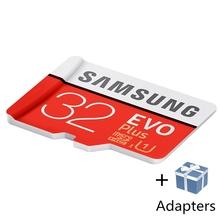 סמסונג Microsd כרטיס 256 גרם 128 gb 64 gb 32 gb 16 gb 8 gb 100 mb/s Class10 U3 U1 SDXC כיתה EVO + מיקרו SD כרטיס זיכרון כרטיס TF כרטיס פלאש(China)