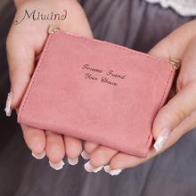 Buy 2017 Minimalist Cute Scrub Leather Mini Slim Wallet Women Small Clutch Female Purse Credit Card Holder Coin Dollar Price Cuzdan for $4.42 in AliExpress store