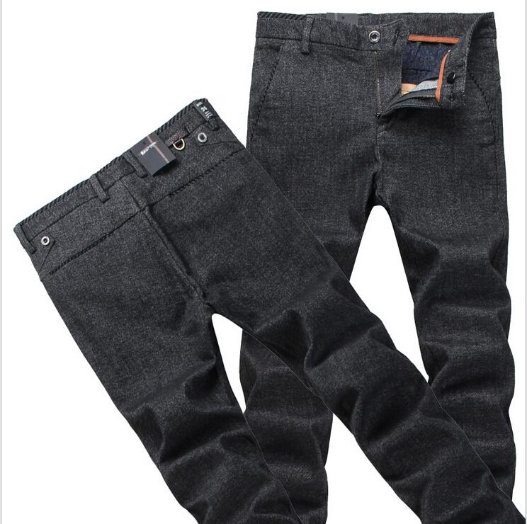 Men's business casual pants men's winter fashion men's feet pants mid waist linen trousers fashion New design pants men A364(China (Mainland))