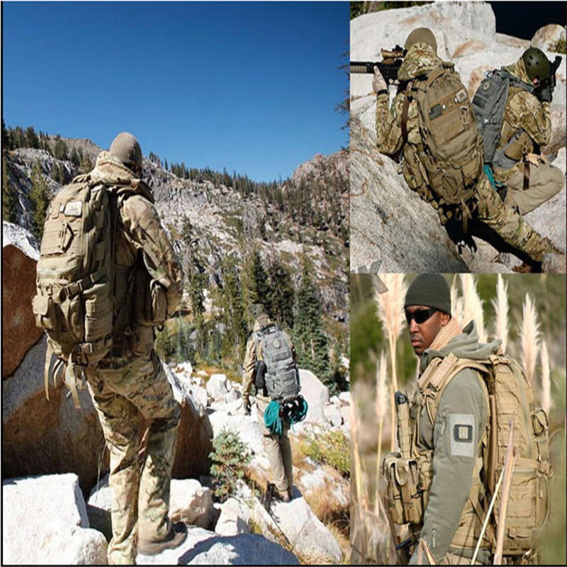 Tactical assault backpack outdoor camping travel maintainering Molle bag - Paintball & Airsof Equipment store