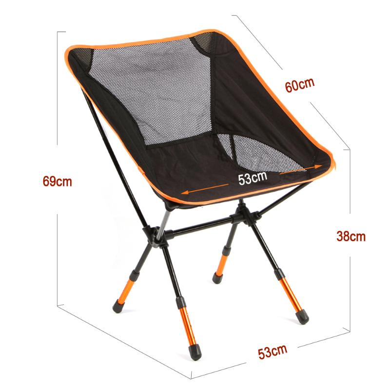 Outdoor Chair – Foldable – Comfortable – Garden/Fishing/Camping/Picnic