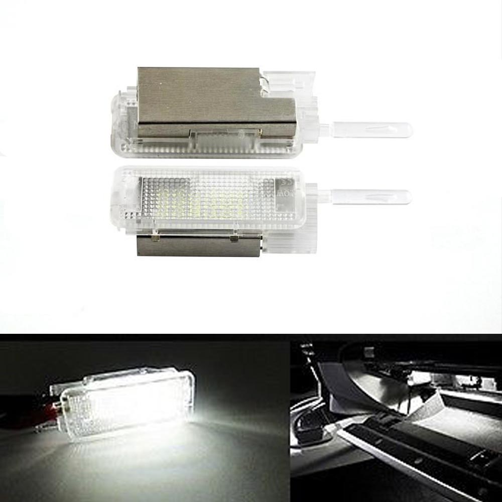 Free shipping 2 X 1007 206 306 307 C2 C3 C5 C6 LED glove Compartment Light auto light Courtesy Light FOR CITROEN /PEUGEOT(China (Mainland))