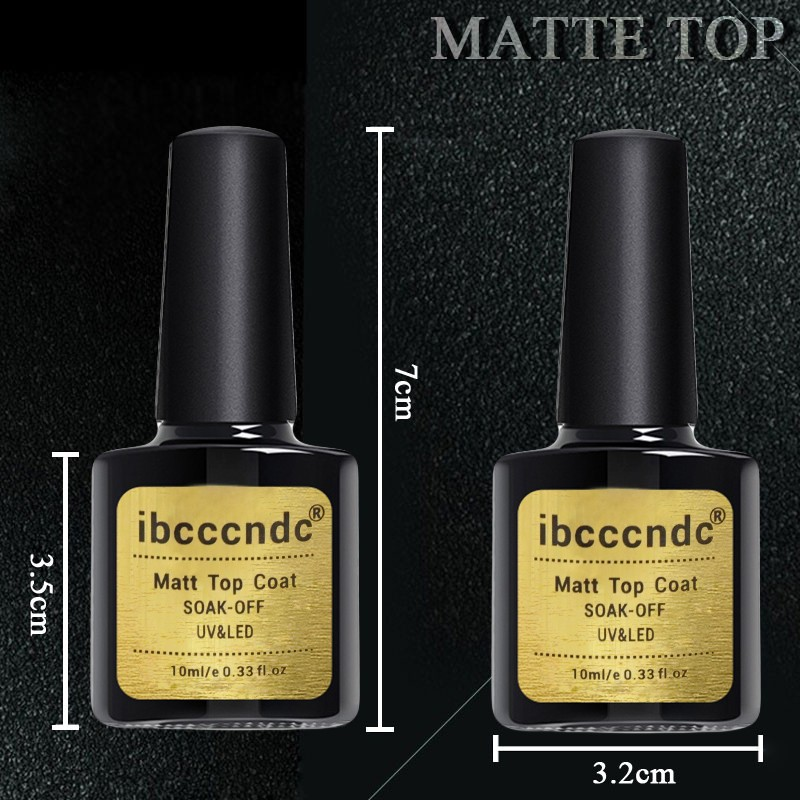 how to use matte top coat gel