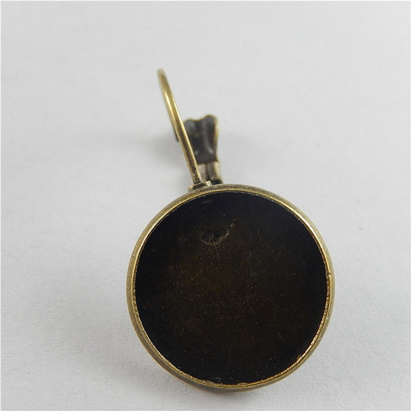 20PCS/Pack Iron Antique Bronze Earring Jackets (16*16mm ) Jewelry Accessory 29*17mm 50776(China (Mainland))