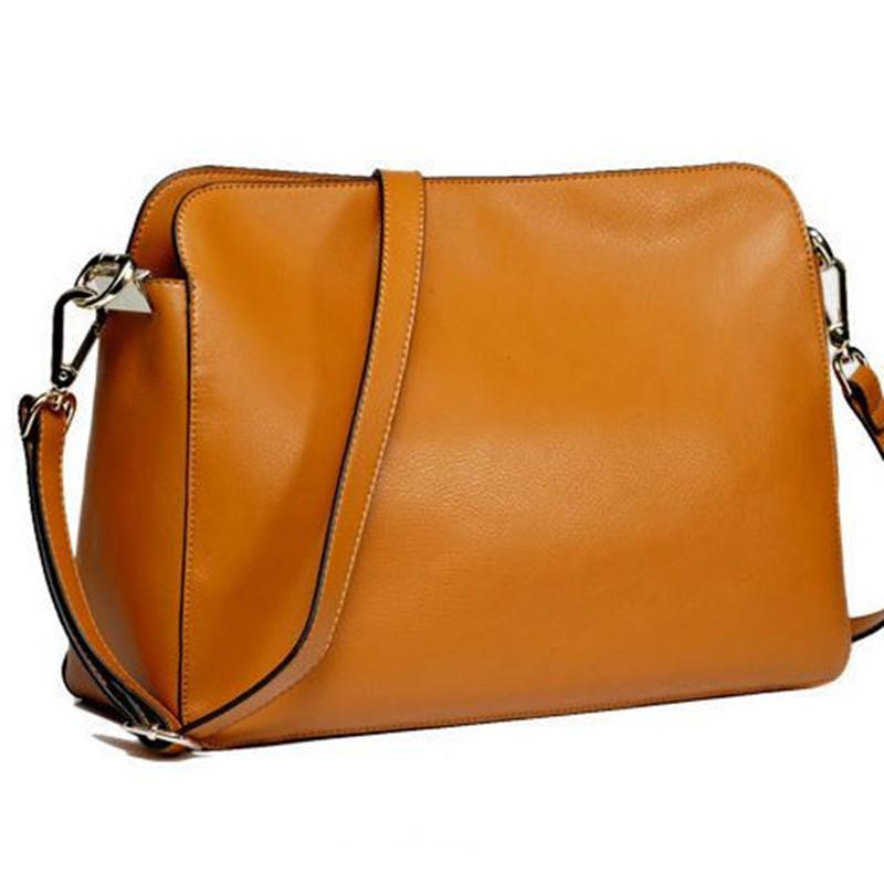 Cool Colors PU Leather Women Cross Body Bags Fashion Women Messenger Bag