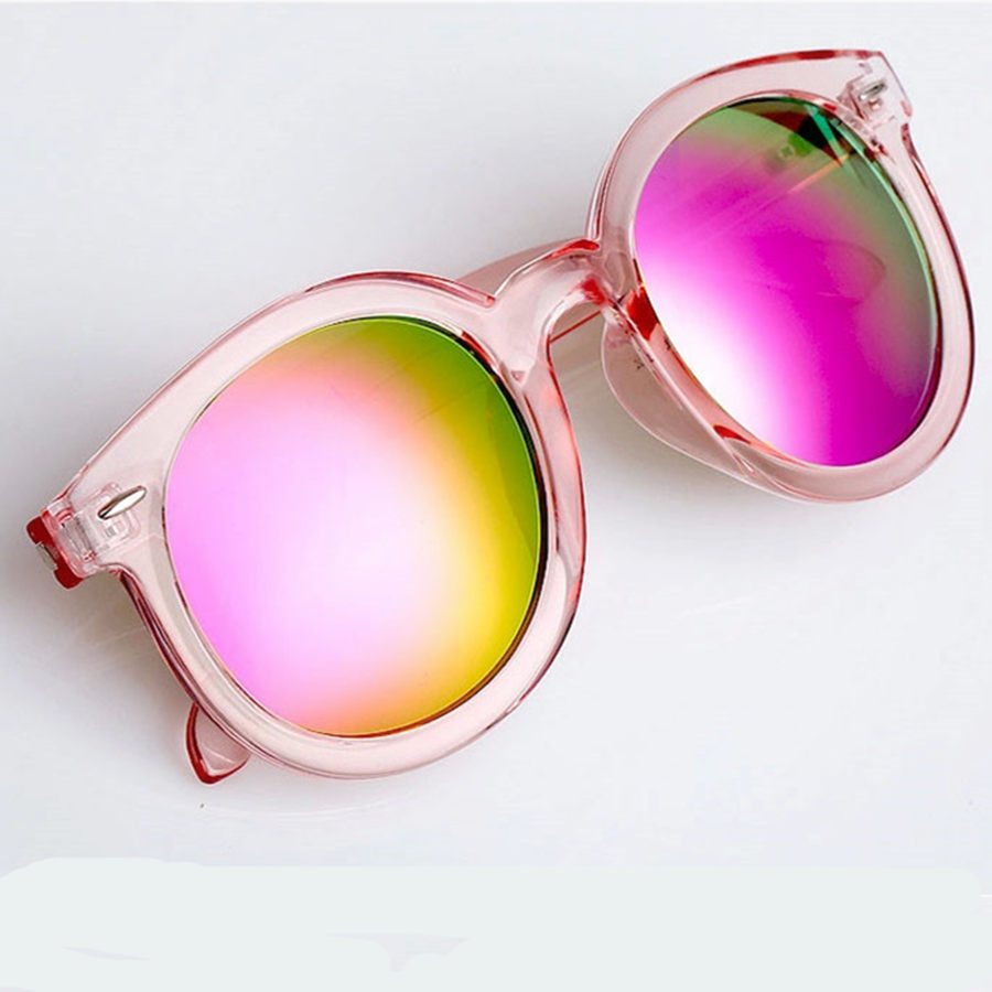Beatiful Vintage Cat Eye Medusa Sunglasses Women big round Female pink Sun Glasses Dragon Wayfarer Women's Glasses Feminine(China (Mainland))