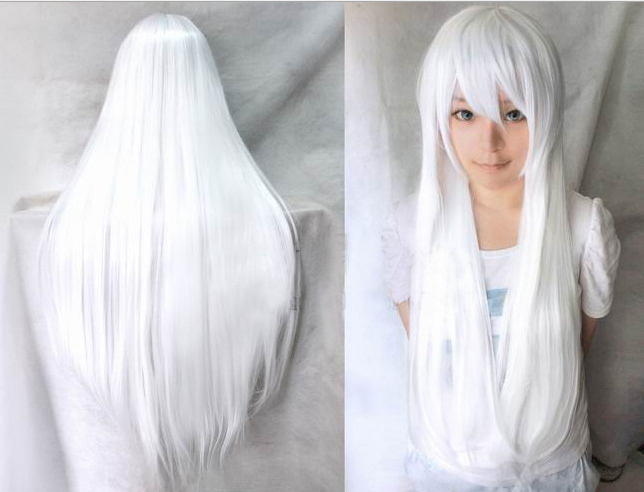 long white hair wigs Gallery