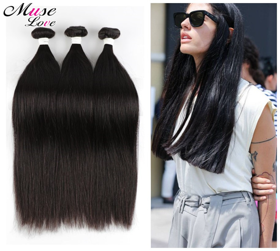Guangzhou Queen Hair Products Super 8A Brazilian Virgin Hair Straight 4Pcs/lot Straight Hair Bundles Meches Bresilienne Lots(China (Mainland))
