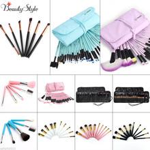Professional Vander Gift Bag Of Makeup Sets 32pcs Make Up Bag Brush Full Cosmetics Brushes Eyebrow Powder Lipsticks Shadows Kits(China (Mainland))