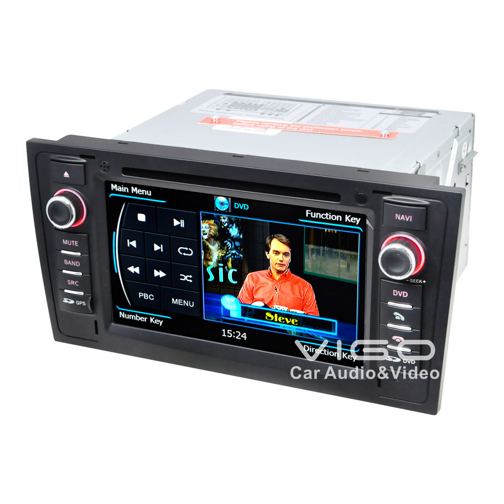 Hot Sell Car Stereo GPS Navigation for Audi A6 S6 R56 Radio RDS DVD Player Multimedia