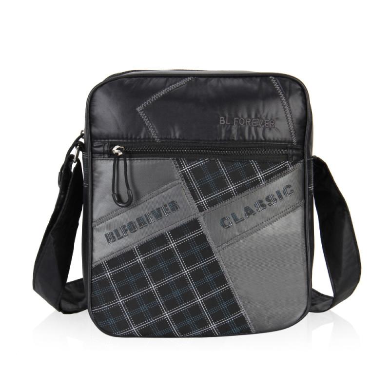Veevan 2016 New Arrival Fashion Business Bag For Man Famous Brand Messenger Bag High Quality Cloth Patchwork Men Shoulder Bag(China (Mainland))