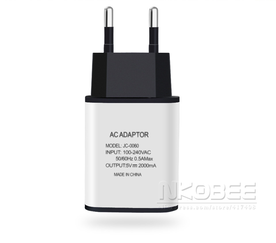NKOBEE EU Universal Charger 2A USB Mobile Phone Protable Wall USB Charger For iPhone 6 S For Samsung S7 Edge Xiaomi huawei