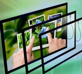 """50"""" driver free IR Touch Screen Panel; 50 Inch LCD TV Touch Screen Frame; Truly 2 points USB Touch Screen(China (Mainland))"""