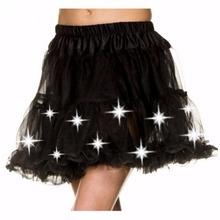 Buy MOONIGHT Women's Led Pettiskirt Mini Skirt Female Sexy Mini Tutu Skirts Led Decoration Belly Dance Wear Clothing Skrit for $11.87 in AliExpress store