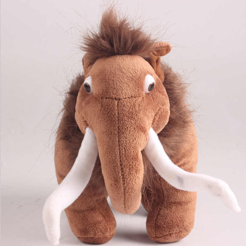 25cm fashionable Action Figures of Ice Age Short-Plush Stuffed Companion Toys Children's Best Gift Manny/Diego/Seed(China (Mainland))
