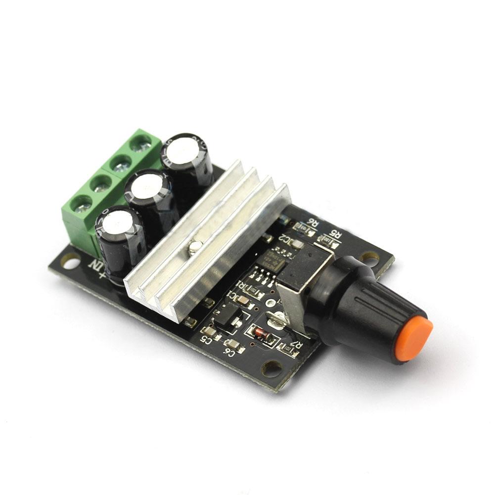 Black PWM DC 6V 12V 24V 28V 3A Motor Speed Control Switch Controller Hot(China (Mainland))
