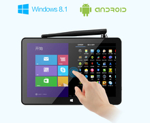 PIPO X8 Dual Boot TV Box Mini PC with 7 inch touch screen Windows 8.1 Android 4.4 Intel Z3736F Quad Core HDMI(China (Mainland))