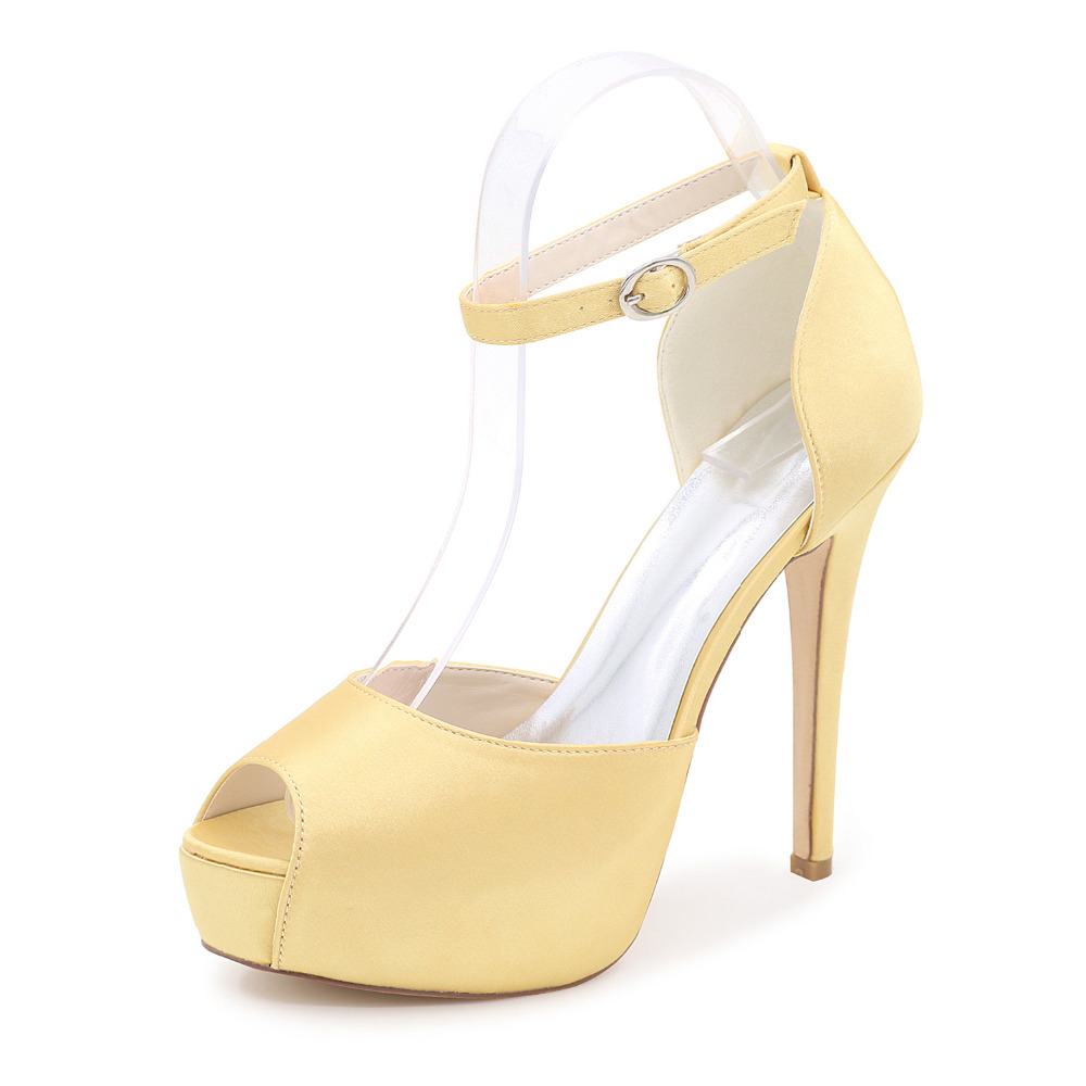 Silver Matte Heels