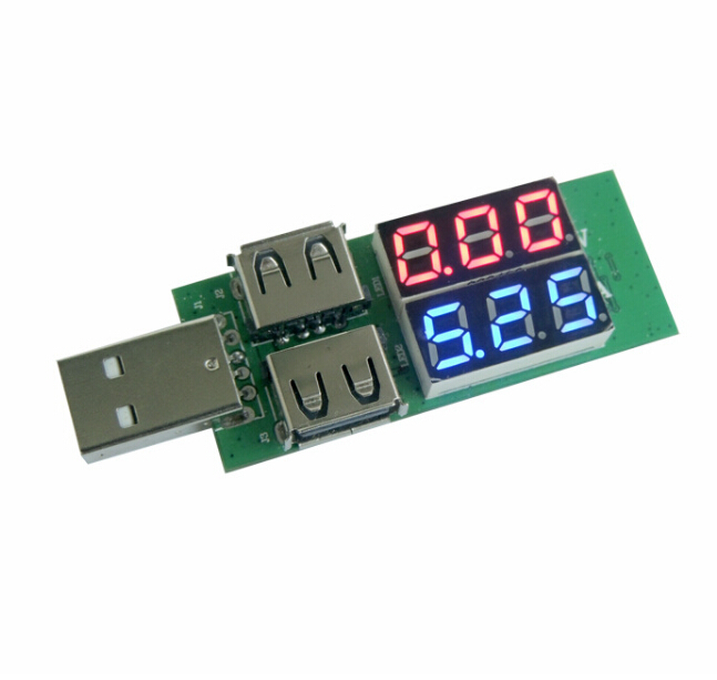 USB-Current-Voltage-Tester-Meter-USB-Voltage-Ammeter-USB-Detector-Double-Row-Shows-New (1)