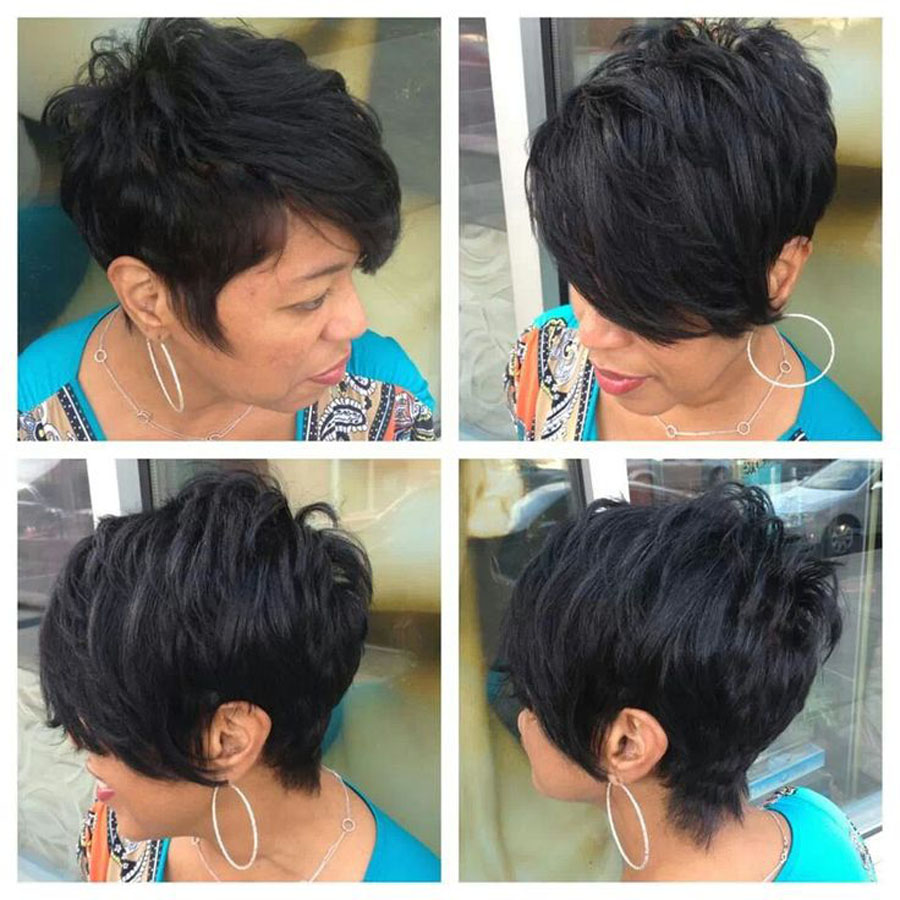 Lace Wigs Short Bob Lace Front Human Hair Wigs Curly Bob None Lace ...