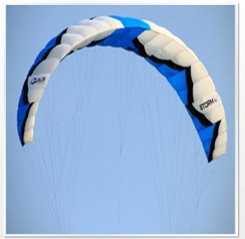 DEPOWER KITE 15 Meter all-terrain traction kite,Nylon Kite,Snow Kite with kite bar and bag free shipping