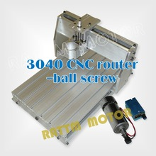 UK / USA / AU delivery! 3040 CNC router kit milling machine mechanical kit ball screw European Union countries free taxes(China (Mainland))