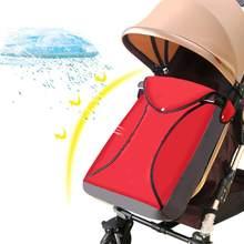 Bebek Arabası Katı Rüzgar Geçirmez Soğuk ayak koruyucu Su Geçirmez Yastıklı Bebek Bebek Tutma Arabası Uyku Tulumu sıcak tutan çoraplar(China)