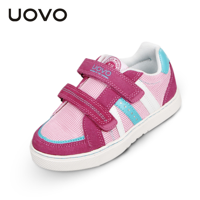 Kids Shoes Breathable Tenis Infantil Uovo Brand Boys Girls Sport Sneakers Spring Autumn Mesh Shoes Flats Kinder Schoenen Loafers