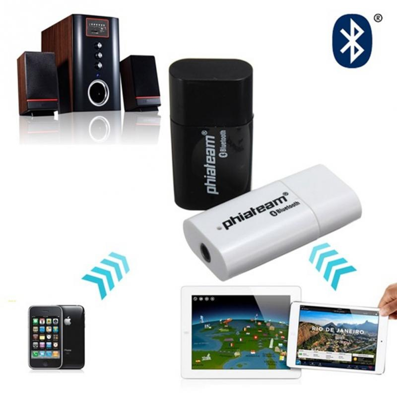 item Best quality USB Bluetooth Music Receiver Adapter  mm Stereo Audio for Car AUX IN Home