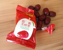 HAO XIANG NI Instant seedless jujube Xinjiang red dates Chinese snack dried fruit 270g bag