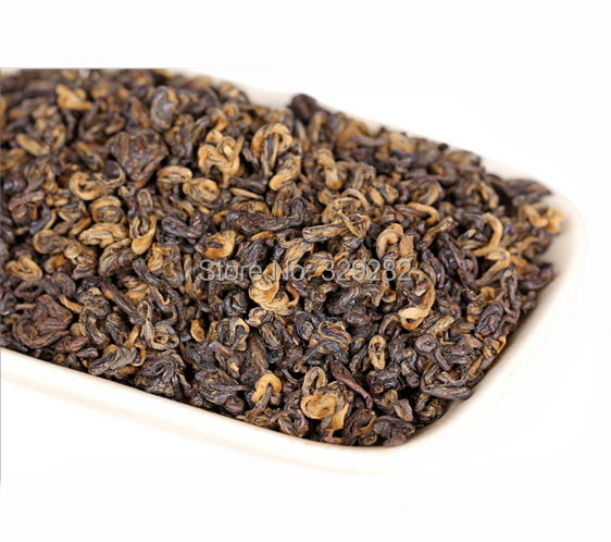 250g DianHong black tea Black BiLuo Chun Tea Free shipping