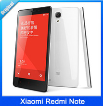 Original Xiaomi Redmi Note 4G LTE WCDMA Mobile Phone Red Rice Note Hongmi Qualcomm Quad Core 5.5″ 1280×720 2GB RAM 8GB ROM 13MP
